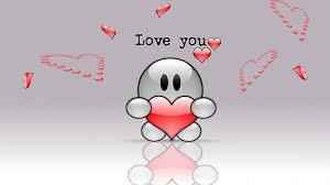 i love you cute hd wallpaper