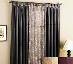 curtain rods for sliding glass doors with vertical blinds patio door curtain rods without center bracket