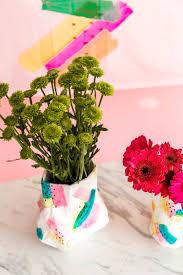 Flower Vase With Paper Paper Mache Diy Flower Vase A Subtle Revelry