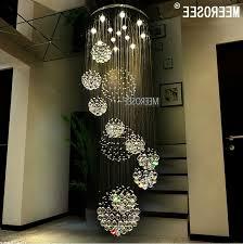 popular long chandelier lights for best quality modern large crystal chandelier light fixture for lobby