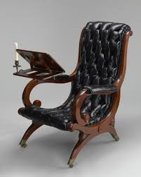 Reading Chair. c. 1835. The Baltimore Museum of Art: Gift of John