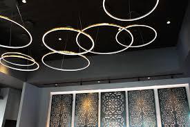 tania vmc34912al 51 led chandelier adjule suspension fixture modern circular chandelier light fixture in silver