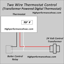 programmable thermostat wiring diagrams hvac control 3 wire thermostat control