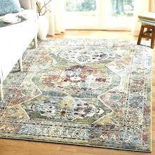 safavieh floeen ivory grey rug vintage bohemian green