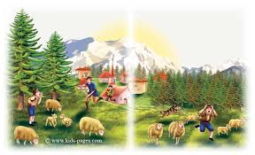 Small Picture Fables The Shepherds Boy and the Wolf