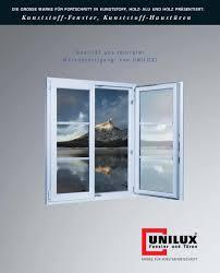 Kunststoff Fenster Kunststoff Haustüren Von Unilux