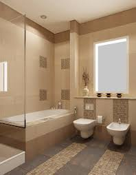 bathroom design. Beige Bathroom Design B