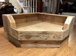 wood dog bed furniture. handcrafted large pallet dog bed designed to fit conveniently in the corner of your room back sides from are 35 u2026 wood furniture l
