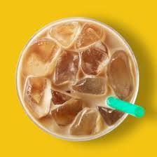 iced starbucks blonde caffè latte