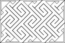 Simple Patterns To Draw Inspiration Thickening The Lines Celtic Key Patterns Celtic Culture Blog