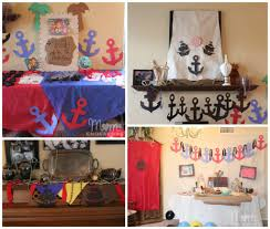 Pirate Themed Bedroom Decor Jake And The Never Land Pirates Birthday Party