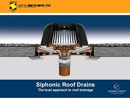 Roof Drain Pipe Sizing Chart Jay R Smith Mfg Co Full Bore Siphonic Roof Drains