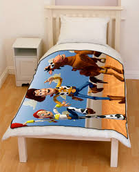 toy story woody and jessie bedding throw fleece blanket