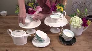 Decorating With Teacups And Saucers How to Decorate With Cups Saucers Decorating Challenges YouTube 7