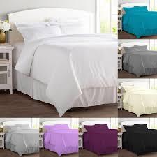 details about 200tc duvet cover set 100 egyptian cotton bedding single double super king size