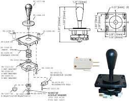 build arcade quality joysticks for atari 2600 7800 800 the ultimate joystick diagram