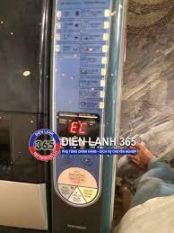 Máy giặt Sanyo báo lỗi EC - Điện Lạnh 365