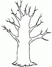 Small Picture Coloring Pages Tree Leaves Coloring Pages