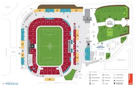 Seating Charts Rio Tinto Stadium