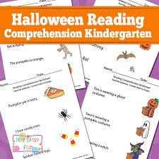 Halloween Reading Comprehension Worksheets for Kindergarten - Itsy ...