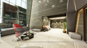 modern style office. Modern Style Office Lobby Interior Design With
