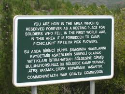 the wine dark sea from to gallipoli travel magpie commonwealth war graves sign gallipoli
