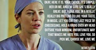 Best Greys Anatomy Quotes Fascinating Grey's Anatomy Love Quotes Cool 48 Best Grey's Images On Pinterest