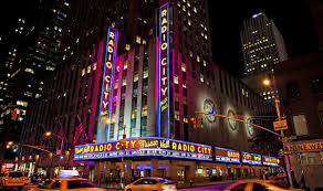 Radio City Music Hall New York Seating Chart Radio City Music Hall Seat Map And Venue Information