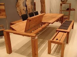 Esstisch Holz Massiv Mit Klappeinlage Bank Ausziehbar Bei
