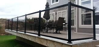 01 glass railing