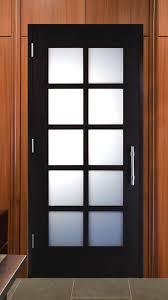 stile and rail wood doors