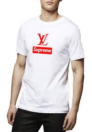 Supreme X Louis Vuitton T Shirt