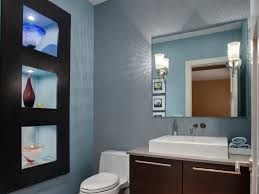 half bathroom ideas gray. Simplistic Tan Bathroom Ideas Gray Modern Pattern Ceramic Wall Blue Pinterest Half