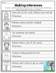 Making Inferences Worksheet 2Nd Grade Worksheets for all ...