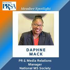 Member Spotlight with Daphne Mack - Public Relations Society of America,  New York Chapter