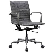 office chair vintage. Fulbirght Office Chair Vintage Grey E