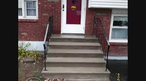 quick concrete stair makeover for stairs with minor wear tear you
