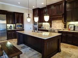 Dark Cabinets Light Granite Countertops Prepossessing Design Patio Of Dark  Cabinets Light Granite Countertops