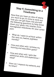 How To Make A Career Plan In 5 Simple Steps Etc Employment Training