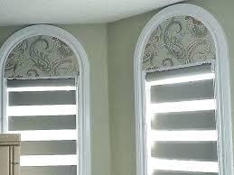 half round window blin half oval window blinds