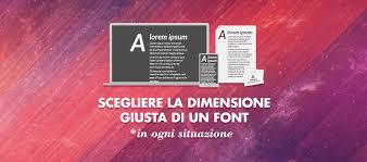 Formati Brochure Come Scegliere La Dimensione Giusta Di Un Font In Qualunque