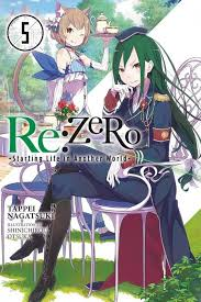 re zero art book re zero starting life in another world vol 1 light novels of
