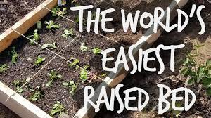 how to build diy raised garden beds in under 30 minutes