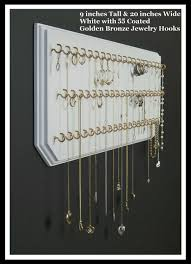 Jewelry Wall Organizer Wall Jewelry Organizer Necklace Decoration Furniture Space
