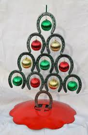 horseshoe christmas tree. numerous friends have sent rhonda and i pictures of horseshoe christmas trees similar to this one tree