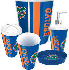 florida gators bathroom lotion pump
