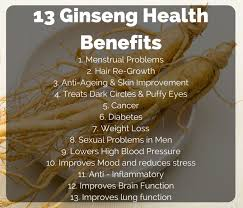 ginseng extract benefits