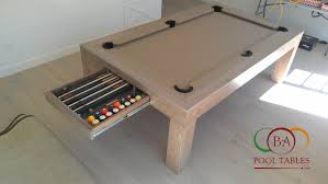 Dining Table Pool Tables Convertible Bellagio Pool Table Contemporary Pool Tables Modern Pool