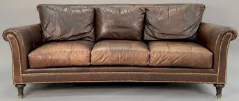 ferguson copeland leather sofa wd 87 by nadeau s auction rh bidsquare com ferguson copeland sofa for ferguson copeland leather sofa