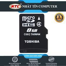 Thẻ nhớ Toshiba MicroSD 8GB Class 4, Giá tháng 4/2021